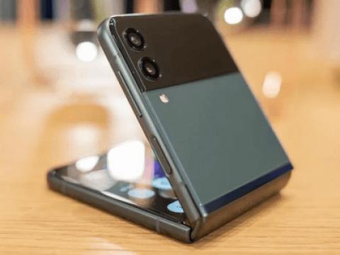 Samsung Galaxy Z Flip 3 Strength Test